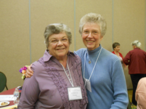 Bishop Patricia Fresen and Theresa Padovano